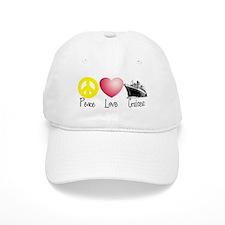 Peace, Love, Cruises Baseball Cap