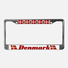Denmark License Plate Frame