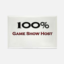 100 Percent Game Show Host Rectangle Magnet