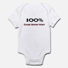100 Percent Game Show Host Infant Bodysuit