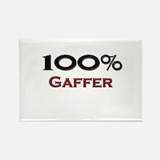 100 Percent Gaffer Rectangle Magnet