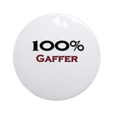 100 Percent Gaffer Ornament (Round)