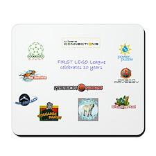 FLL Celebrates 10 years Mousepad