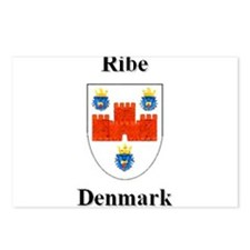 Ribe Postcards (Package of 8)