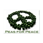 Peas for Peace Small Poster