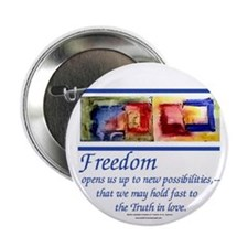 """Freedom2.25"""" Button (10 pack)"""