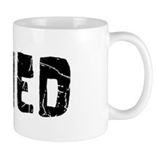 Ahmed Faded (Black) Mug