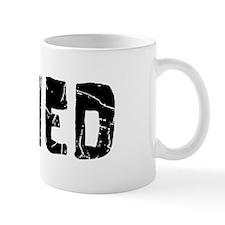 Ahmed Faded (Black) Small Mug