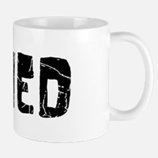 Ahmed Faded (Black) Small Small Mug