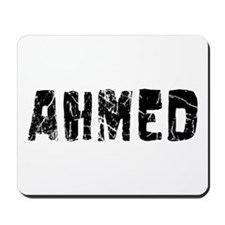 Ahmed Faded (Black) Mousepad