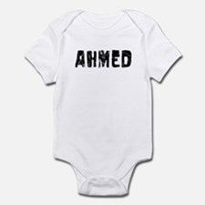 Ahmed Faded (Black) Infant Bodysuit