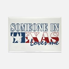 Someone in Texas Rectangle Magnet (100 pack)