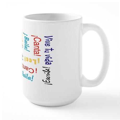 Viva tu vida Large Mug