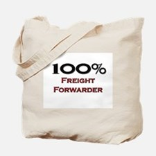 100 Percent Freight Forwarder Tote Bag