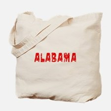 Alabama Faded (Red) Tote Bag