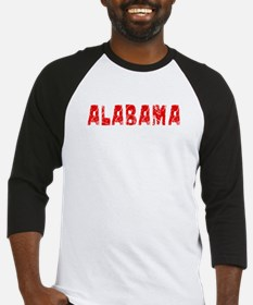 Alabama Faded (Red) Baseball Jersey