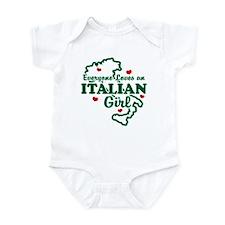 Everyone Loves an Italian girl Infant Bodysuit
