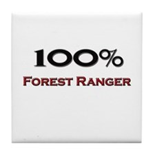 100 Percent Forest Ranger Tile Coaster