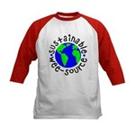 Sustainable Wee source Kids Baseball Jersey