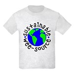Sustainable Wee source Kids Light T-Shirt