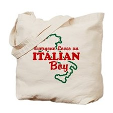 Everyone Loves an Italian Boy Tote Bag