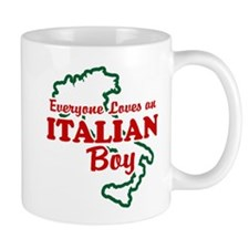 Everyone Loves an Italian Boy Mug