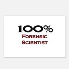 100 Percent Forensic Scientist Postcards (Package