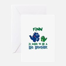 Finn - Big Brother To Be Greeting Card