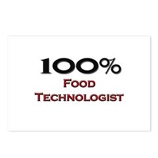 100 Percent Food Technologist Postcards (Package o