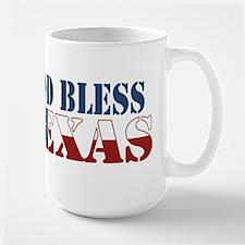 God Bless Texas Mug