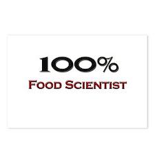 100 Percent Food Scientist Postcards (Package of 8