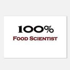 100 Percent Food Scientist Postcards (Package of 8