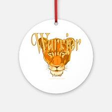 Warrior Ornament (Round)