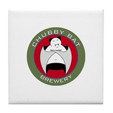 Chubby Bat Brewery Tile Coaster