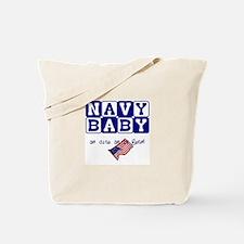 NAVY BABY, AS CUTE AS IT GETS Tote Bag