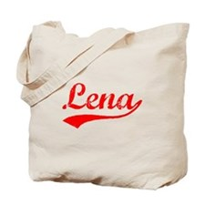 Vintage Lena (Red) Tote Bag