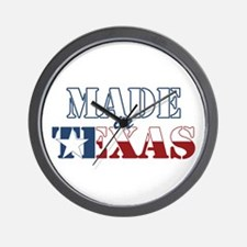 Made in Texas Wall Clock