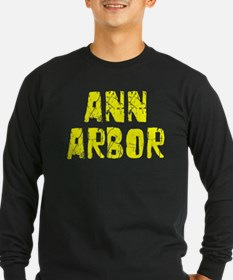 Ann Arbor Faded (Gold) T