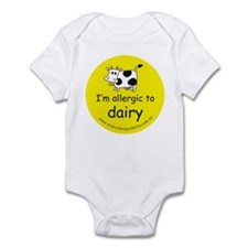 allergic to dairy Infant Bodysuit