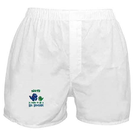 Nate - Big Brother To Be Boxer Shorts