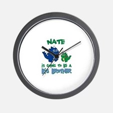Nate - Big Brother To Be Wall Clock