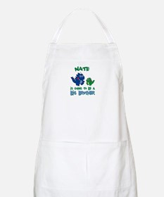 Nate - Big Brother To Be BBQ Apron