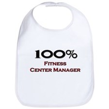 100 Percent Fitness Center Manager Bib