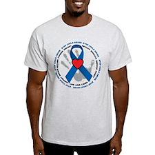 Stop Child Abuse Ribbon T-Shirt