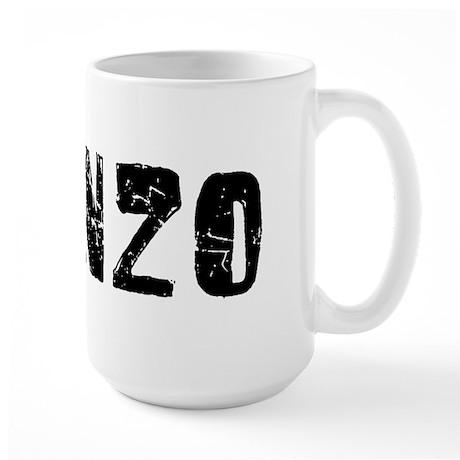 Alonzo Faded (Black) Large Mug