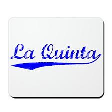 Vintage La Quinta (Blue) Mousepad