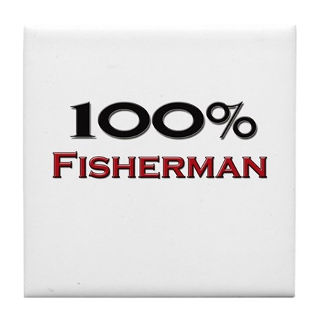 100 Percent Fisherman Tile Coaster