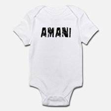 Amani Faded (Black) Onesie