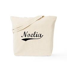 Vintage Noelia (Black) Tote Bag