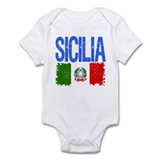 Classic Retro Sicilia Infant Bodysuit